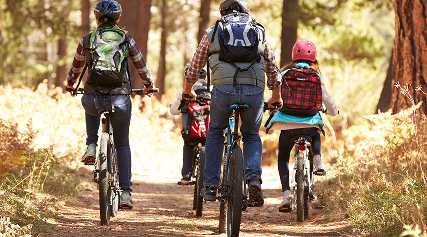 Vilken cykelsits för barnen?